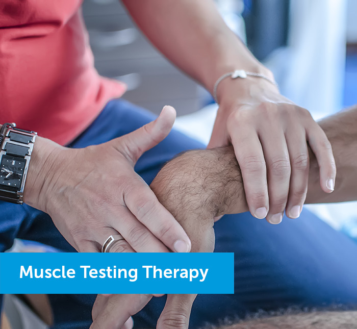 Muscle testing for men with cancer